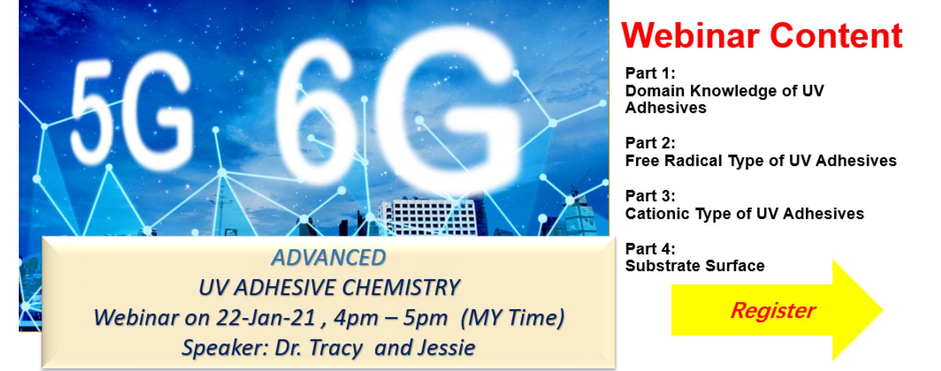 Penchem 5G & 6G Advanced UV Adhesive Chemistry Webinar Penchem